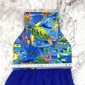 Turtles and sea life Designer Hand Towel