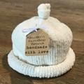 Newborn Gumdrop Beanie - Cream