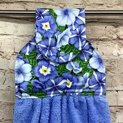 Petunias  Designer Hand Towel