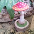Amanita Muscaria (red and white) Mushroom Sculpture