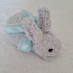 Baby Bunny softies - hand knitted, child, baby or baby shower gift.
