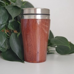 Banksia Wood travel cup,  Re-reusable cup, Wood Gift, Coffee Mug