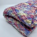 Blanket Knitted Mulit-Coloured