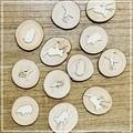Australian Animals Wood Slice Stamper Trio