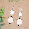 Natural Trio Earrings