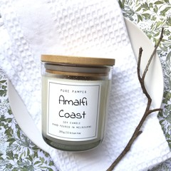 Soy Candle - Amalfi Coast | Home Fragrance | Divine Scent