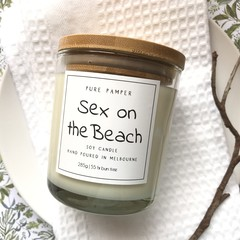 Soy Candle - Sex on the Beach | Home Fragrance | Divine Scent