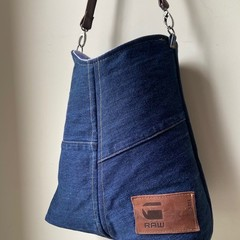 UPCYCLED G-Star Raw DENIM TOTE BAG