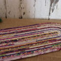 Extra Large Rope Heat pads- Oval Purple