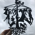 """Where the Wind Takes You..."" woodcut (medium size)"