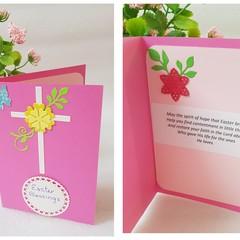 Handmade Easter Cards - Christian
