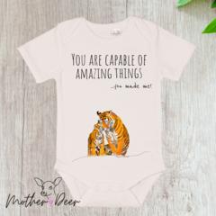 """Amazing Things"" Baby Onesie"