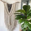 Large cream/grey wall hangings
