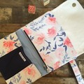 Nappy Wallet - Pink/Blue Floral
