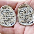 Letter From Mother, Gift For Daughter, Personalised Token, Inspiration Quote
