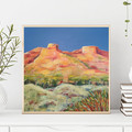 Pilbara Country - Australian Outback Landscape Painting