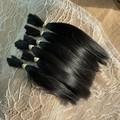 Black Suri Alpaca fibre - over 7g ( 1/4oz) in bundle