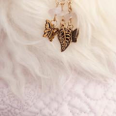 Large Keychain - Butterflies