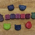Easter Personalised Name Crayons