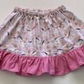 Twirly elegant horse skirt