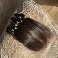 Deep Dark Brown Suri Alpaca fibre - over 7g ( 1/4oz) in bundle