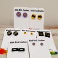 BATMAN & BOOM/BAM/POW Assorted Stud Earrings