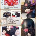 DAMON SLAYER/Nezuko's Theme Prints Genuine Japanese Cotton Facemask