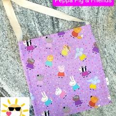 PEPPA PIG Library Bag | Tote Bag | Crossbody Bag