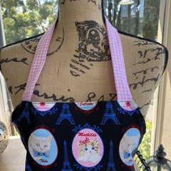 French Kitty Apron
