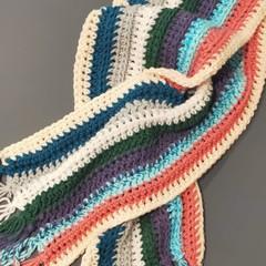 Coloured scarf