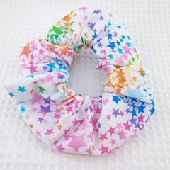 Glitter Stars  Scrunchie