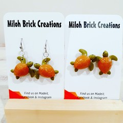 ANIMALS Bears, Chameleons, Skunks & Turtles Earrings