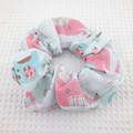 Elephant Splash Scrunchie