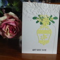 GET WELL SOON CARD - (FREE POSTAGE)