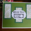 ROAD TRIP CARD - (FREE POSTAGE)