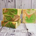 Cucumber and Melon Handcrafted Artisan Soap