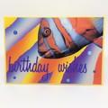 Birthday Card - Large Colourful Fish