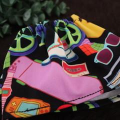 Toddler Sock Protectors- Retro