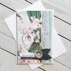 You Go Girl Handmade Card