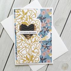 It's Your Birthday Handmade Card