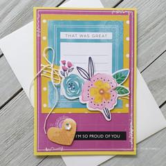 Proud Of You Handmade Card