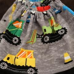 Toddler Sock Protectors- Grey Trucks