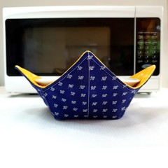 Hot Bowl Cozy | Hot Bowl Holder | Reversible