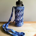 Crochet Drink Bottle Holder - Large / adult