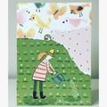 Garden guardian card