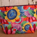 Large Toiletry bag- Bright Floral