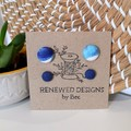 Blue Mini and Me Stud Sets