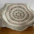 'Octagonical' Handmade heirloom quality Afghan Blanket Throw