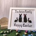 Easter Family Frame