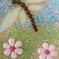 Dragonfly Cherry Blossom Plate